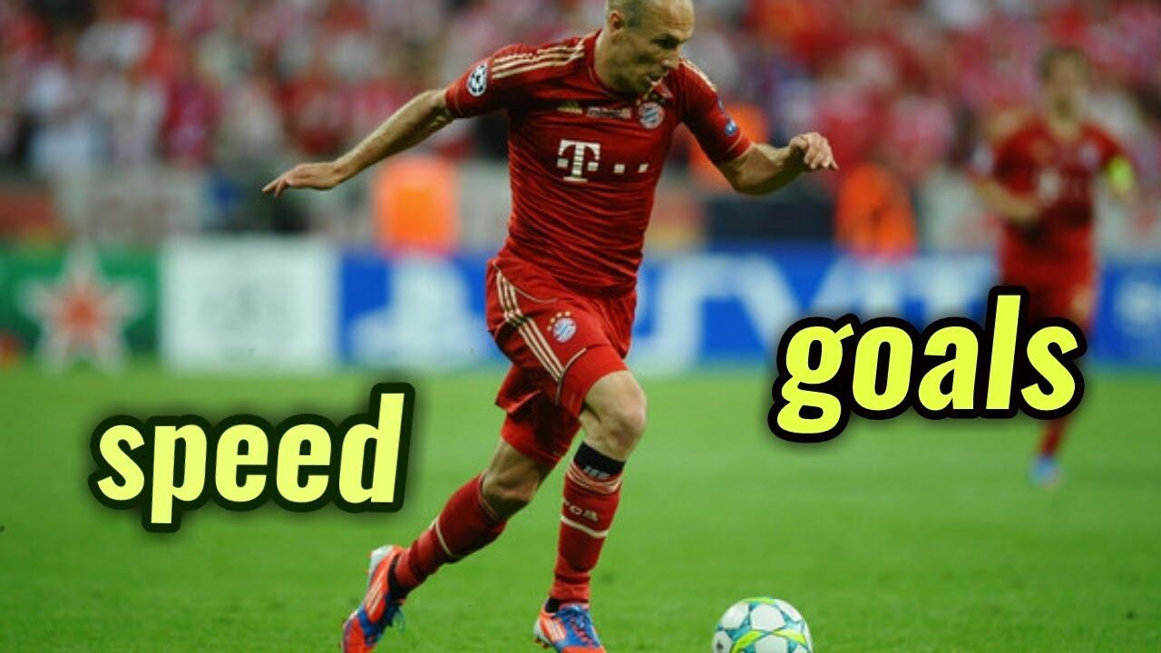 Arjen Robben Speed And Goals Driblling Skills Youtube