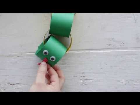 VBS DIY: Paper Chain Snake