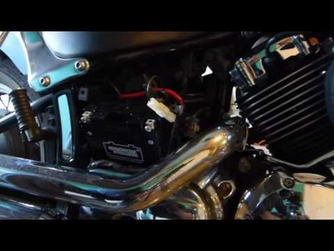How to Install a Battery on a 650 V Star