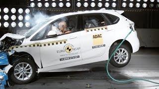 Crash Test 2015 BMW 2 Series Active Tourer