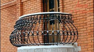 видео кованый балкон