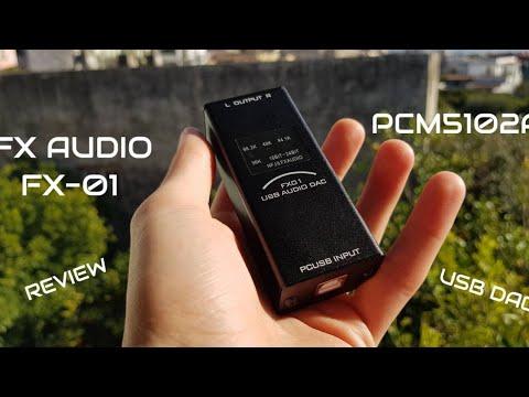 FX Audio FX-01 - $32 AliExpress USB DAC (PCM5102A) - Review!