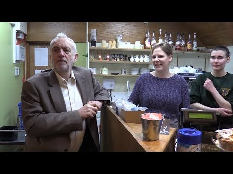 Jeremy Corbyn interview in Stourbridge