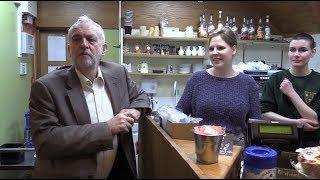 Jeremy Corbyn interview in Stourbridge
