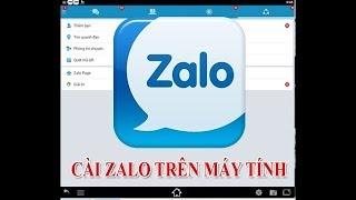 Hướng dẫn cài đặt Zalo trên máy tính nhanh nhất