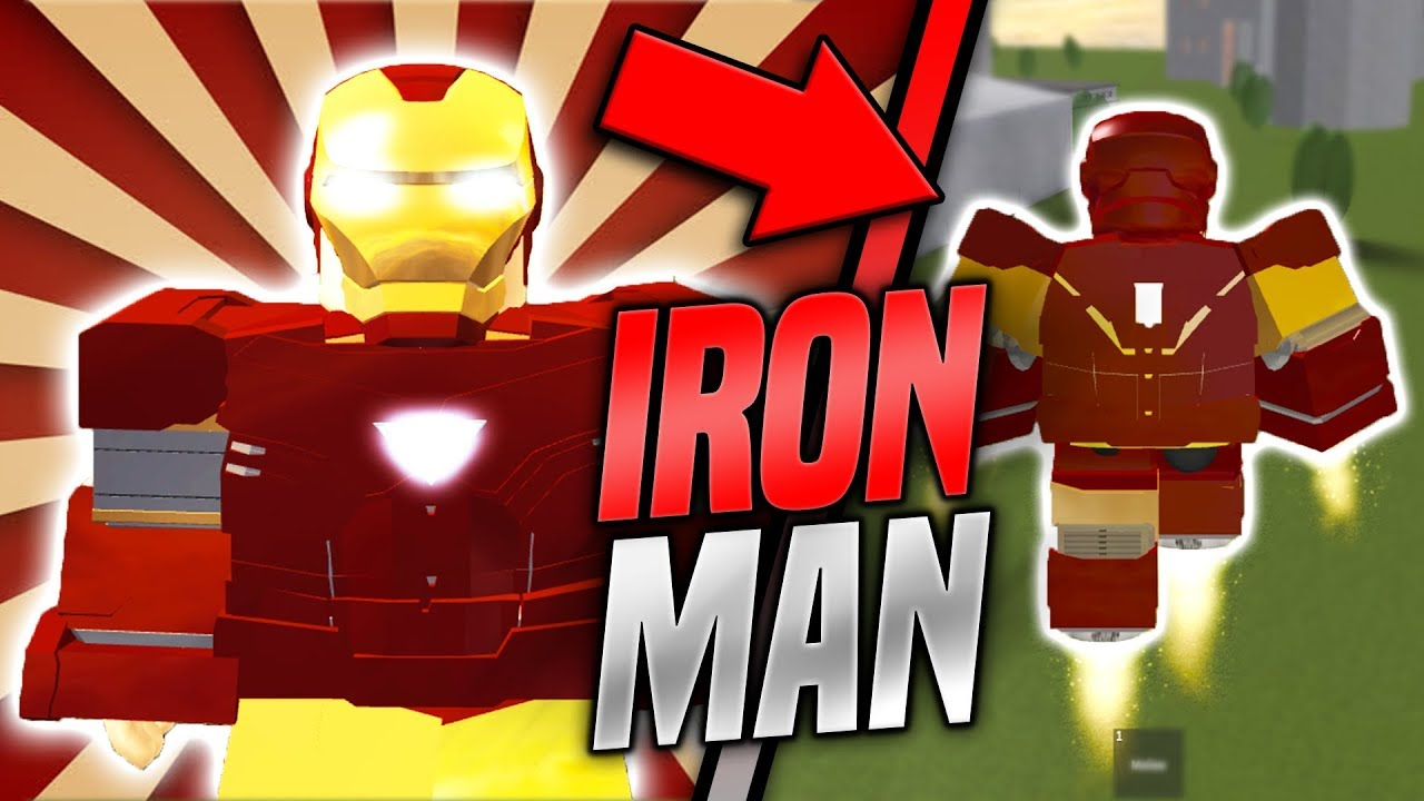 How To Become Iron Man In Roblox Epic Roblox Roleplay Youtube
