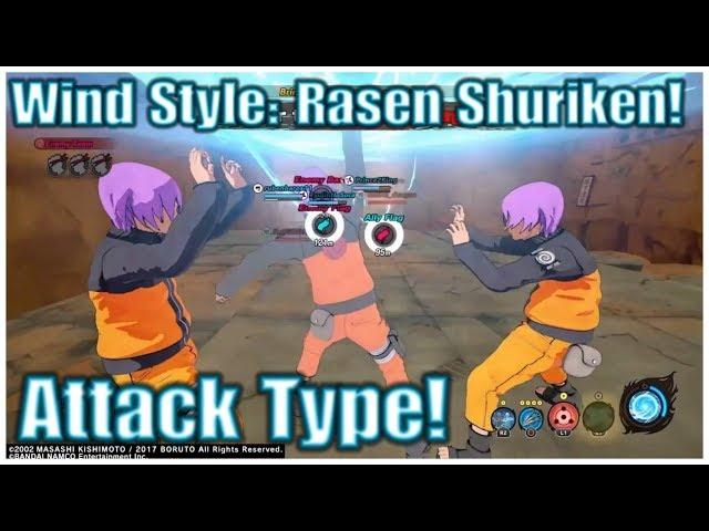 Naruto to Boruto: Shinobi Striker | New Naka Uchiha Gameplay (Attack Type)