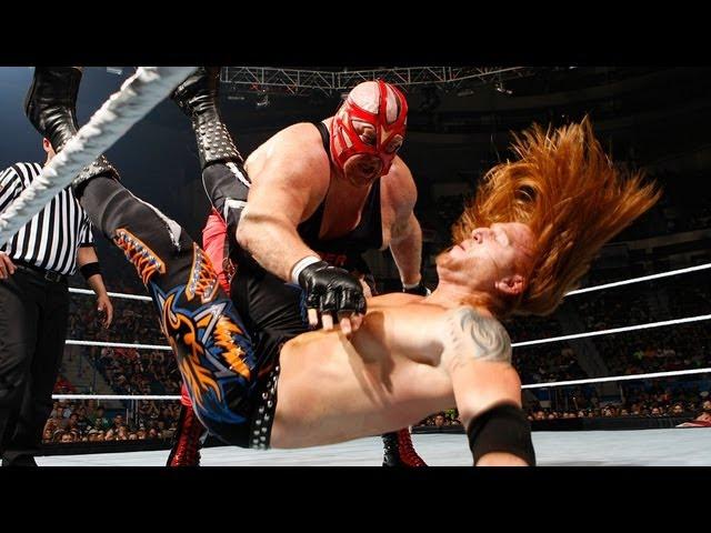 Vader vs. Heath Slater: Raw, June 11, 2012