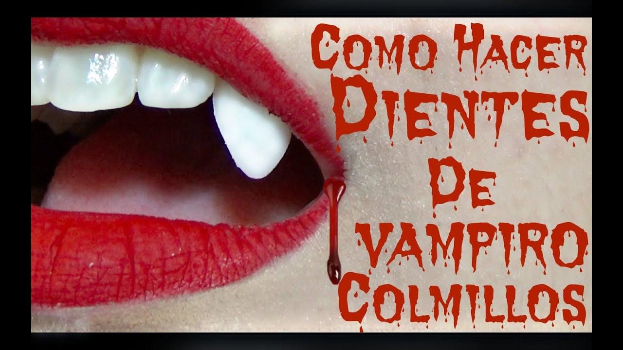 Como hacer dientes de vampiro colmillos youtube for Como hacer criadero de truchas