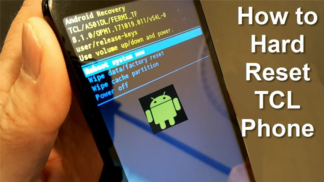 Download How to reset locked Android Mobile Phone - TCL Reset - Free & Easy