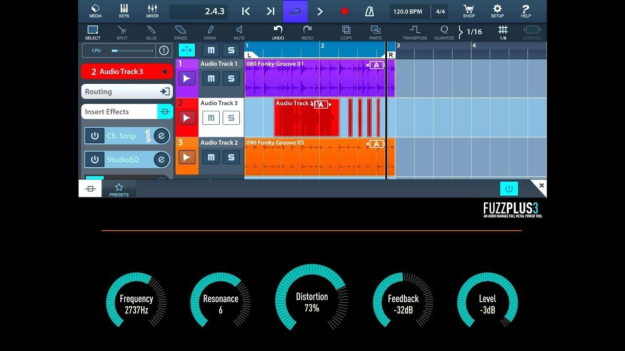 Download Free Vintage fuzz plugin: FuzzPlus3 by Audio Damage