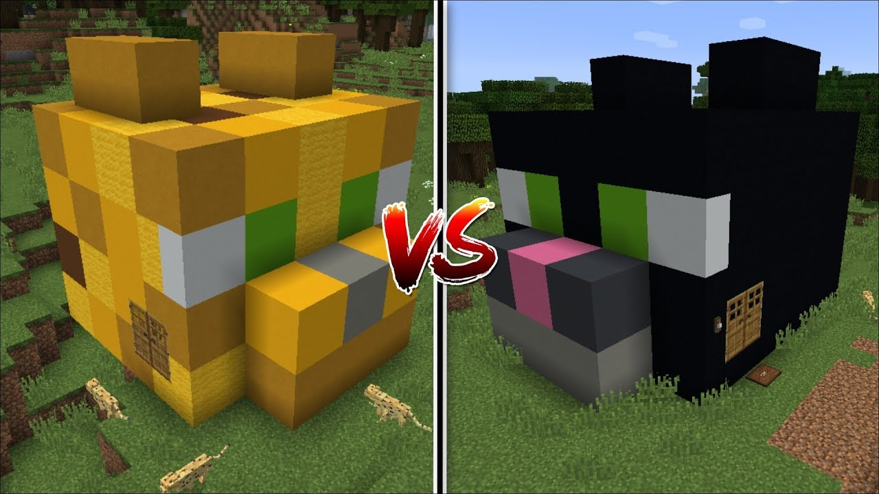Minecraft Ocelot House Vs Cat House Mod Find The Best Pet House Minecraft Youtube