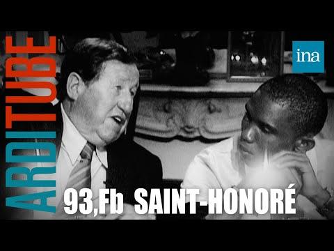 Dîner Les Grandes Gueules du Foot chez Thierry Ardisson au 93, FB saint-Honoré | INA Arditube