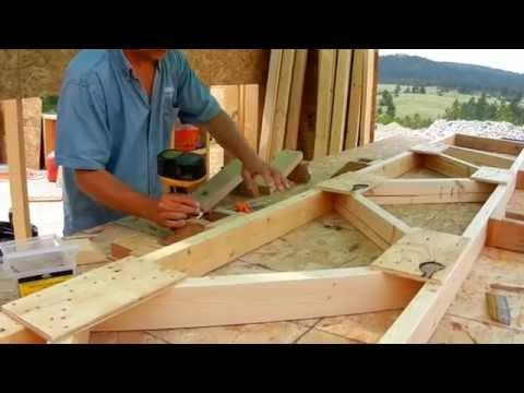 Building Roof Trusses