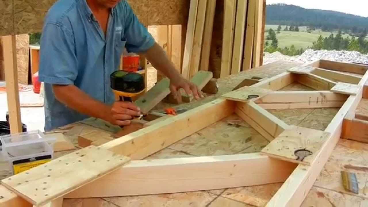 Building roof trusses youtube Build your own cupola