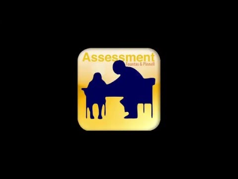 Fountas & Pinnell Assessment Reading Record App Tutorial - Jan 2016 update