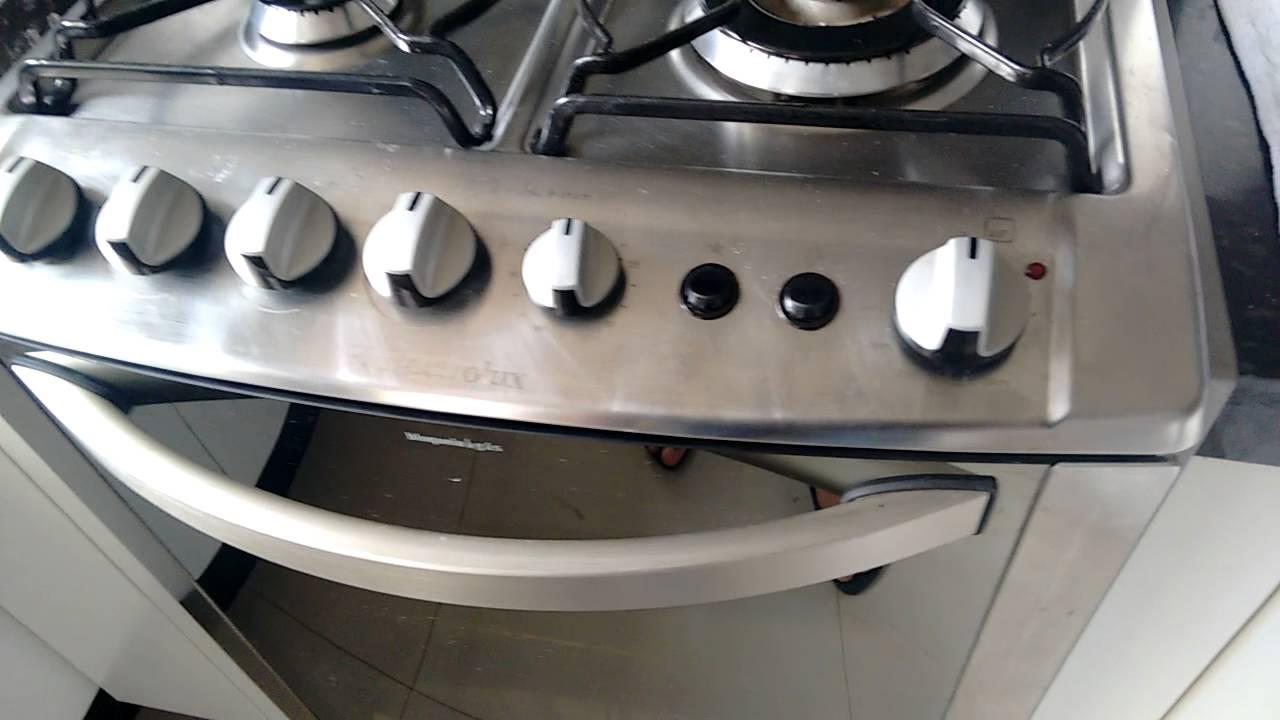 01f0f90df Acender forno Electrolux bloqueia gás - YouTube