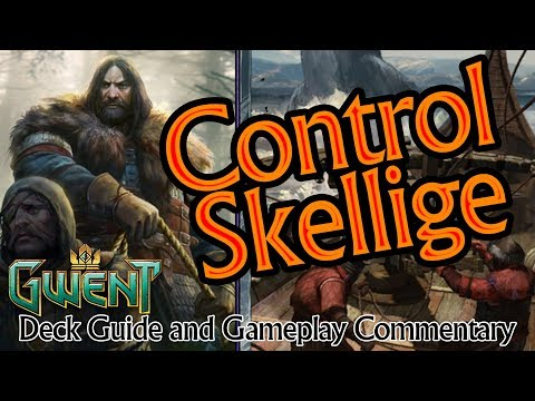 Control/Cursed Hybrid An Craite SK ⚔ Guide & Commentary game vs TailBot ⚔ Gwent Deck Guide