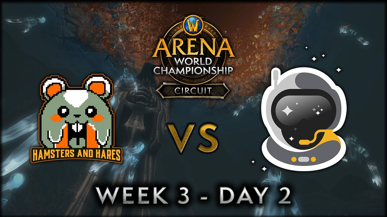 Hamsters & Hares vs Spacestation Gaming | Week 3 Day 2 | AWC SL Circuit
