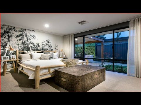 Modern Bedroom Curtain Designs And Ideas  Home