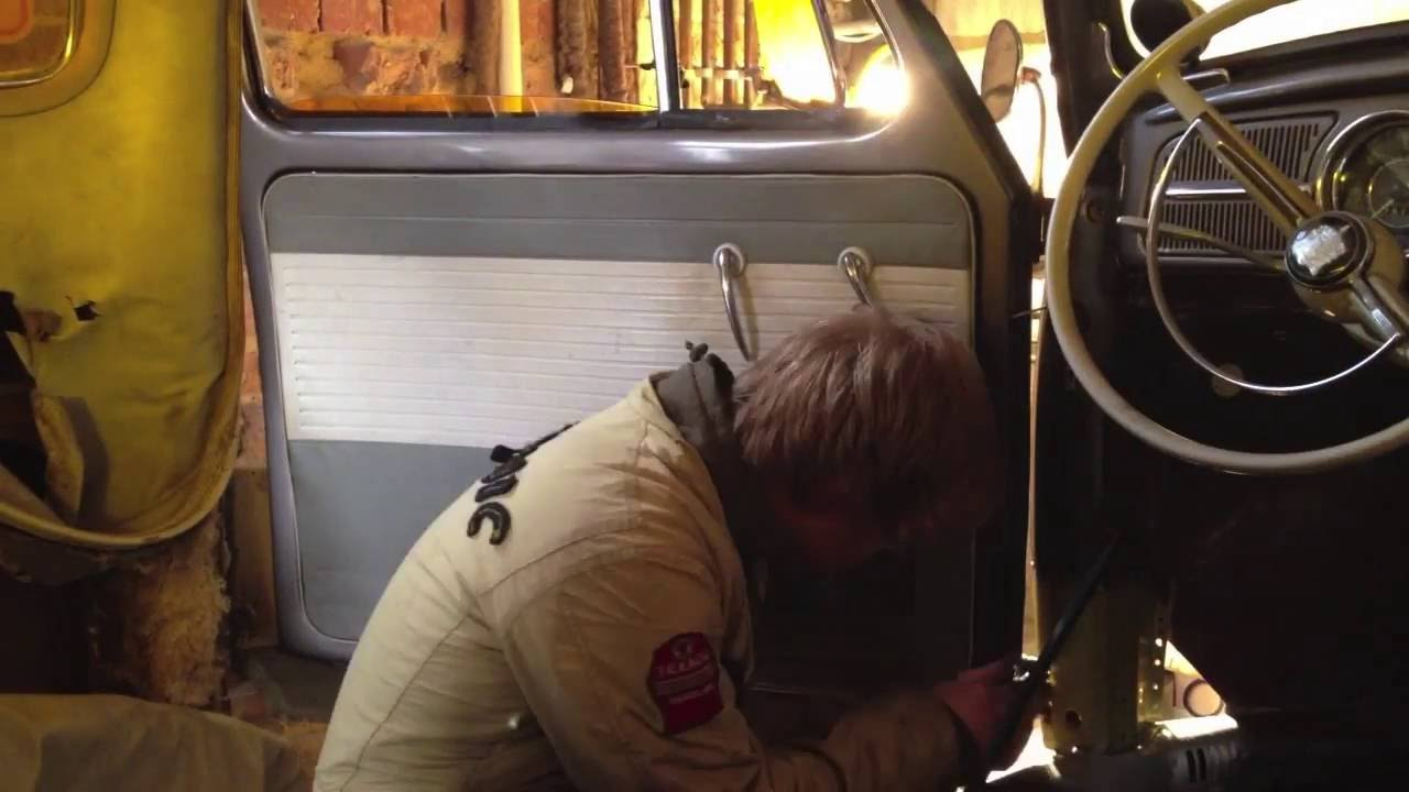 Vw Beetle Quot A Quot Pillar Amp Inner Arch Repair Youtube