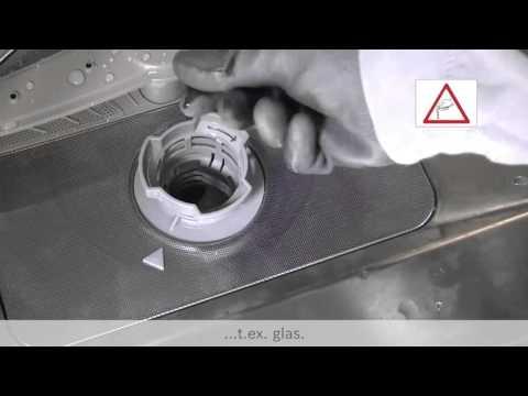 Hur rengör jag min diskmaskin?