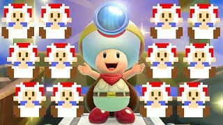 Captain Toad Treasure Tracker - All Pixel Toads Locations