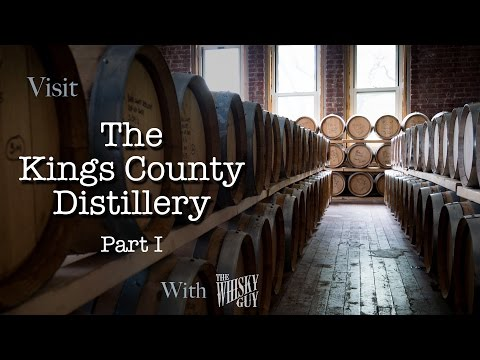 Kings County Distillery in Brooklyn, NY, Part 1 - Distillery Tours with The Whisky Guy