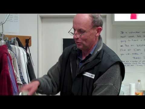 Chief Executive John Ware volunteers
