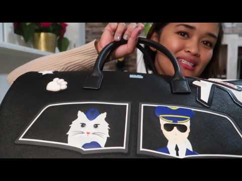 Unboxing Video: My First Karl Lagerfeld Bag