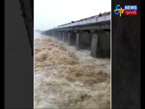 Morbi: Jodia dam is filled with heavy rains_Etv News Gujarati