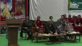 5th Inter School Tibetan Dialectical Competition_Inaugural Ceremony