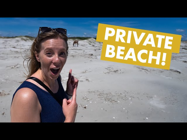 THIS IS GEORGIA?! | Wild horses, castle ruins, and private beaches (Cumberland Island)