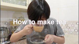 Brent's Corner - Instruction Writing Task: How To Make Tea