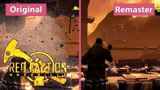 4K Red Faction Guerrilla  Re-Mars-tered (2018) vs. Steam Edition (2009) Graphics Comparison