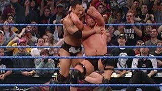 The Rock & Chris Jericho vs. Steve Austin & Kurt Angle: