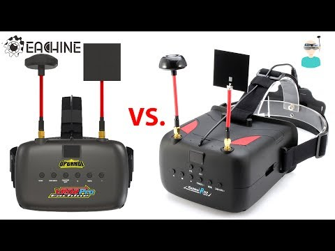 Eachine VR D2 Pro VS Older Version - DVR Side By Side Comparison