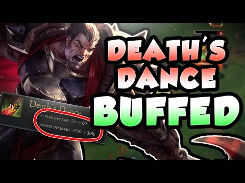 DO THESE NEW DEATH DANCE BUFFS MAKE DARIUS BROKEN AGAIN?! FULL AD DARIUS TOP - League of Legends