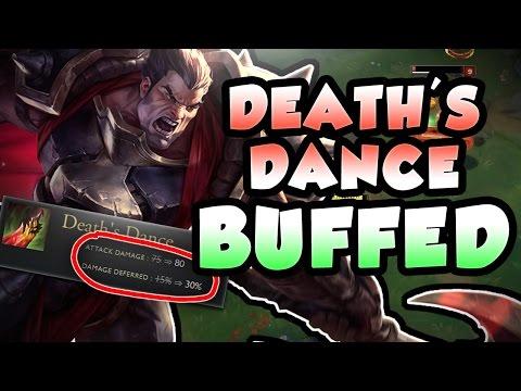 DO THESE NEW DEATH DANCE BUFFS MAKE DARIUS BROKEN AGAIN?! FULL AD DARIUS TOP - League of Legends
