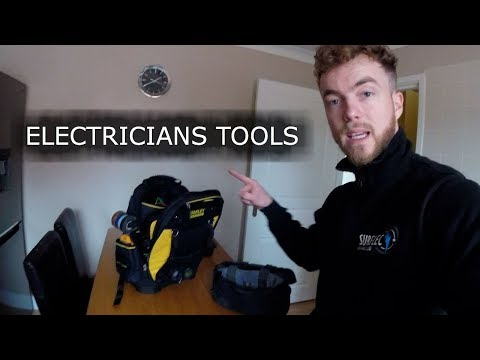 SurelecTV- ELECTRICIANS TOOL BAG- STANLEY FATMAX TOOL BACKPACK REVIEW