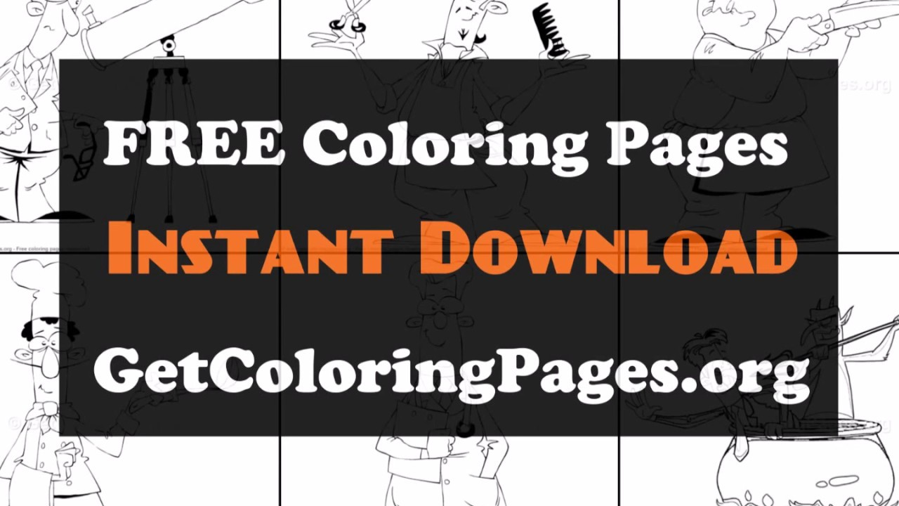 When I Grow Up Coloring Pages Youtube