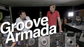Groove Armada - DJsounds Show 2015