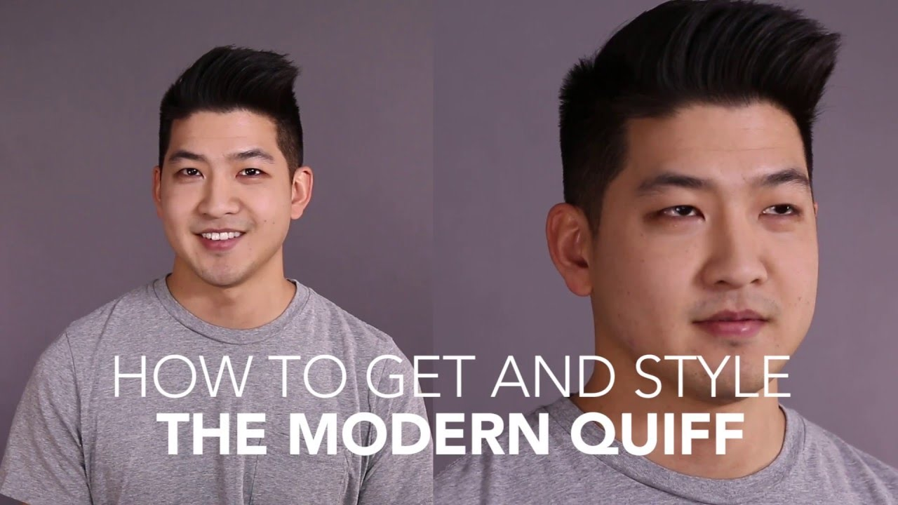 How to Cut and Style: The Modern Quiff