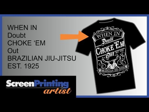 CorelDRAW tutorial on how to create a vintage t-shirt design