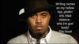 Nas - One Mic (lyrics)