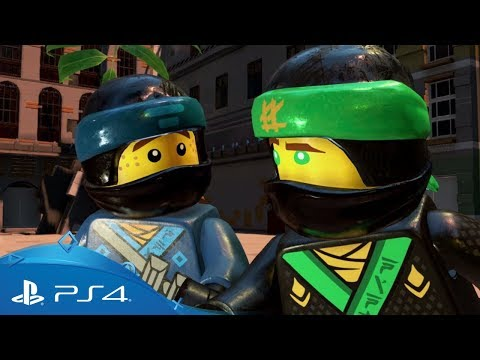 The LEGO Ninjago Movie Video Game | Launch Trailer | PS4