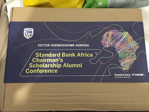 My Standard Bank of Africa Chairman Scholarship Alumni Conference Pack (2020)