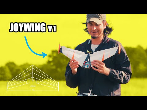 I made a mini flying wing | Joywing V1.0 - free plans