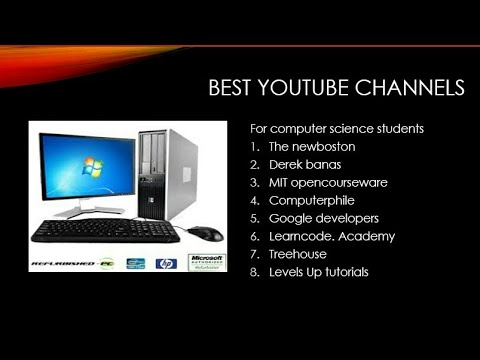 Computer science channels thumbnail