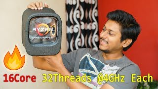 85,000Rs MONSTER Processor | Ryzen Threadripper 1950X Unboxing India